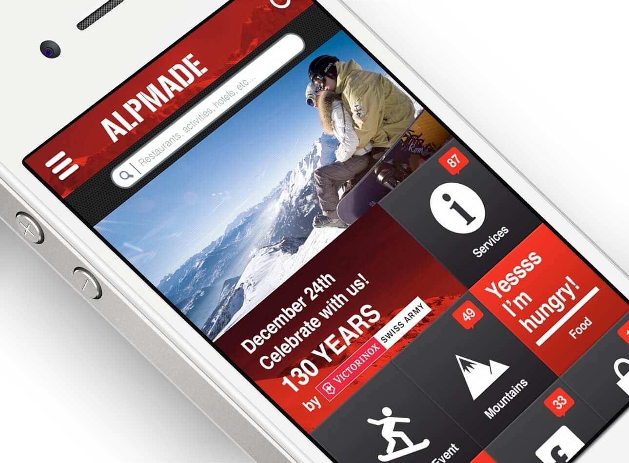 Diseño de branding y app