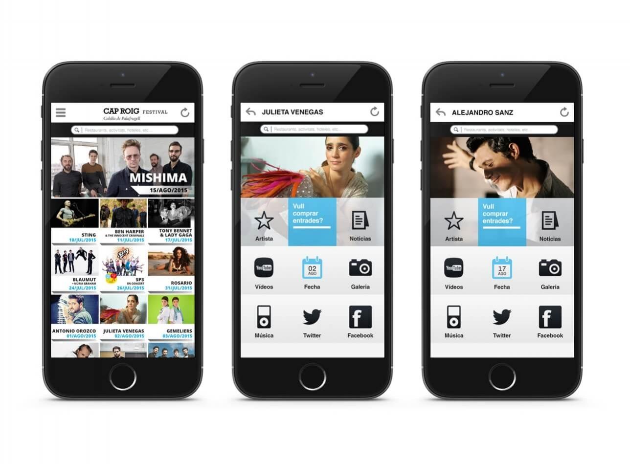 Diseño de la imagen gráfica de la aplicación móvil