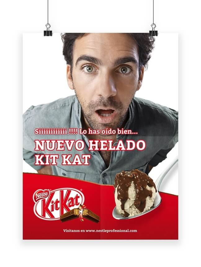 PLV Nestlé Kit Kat