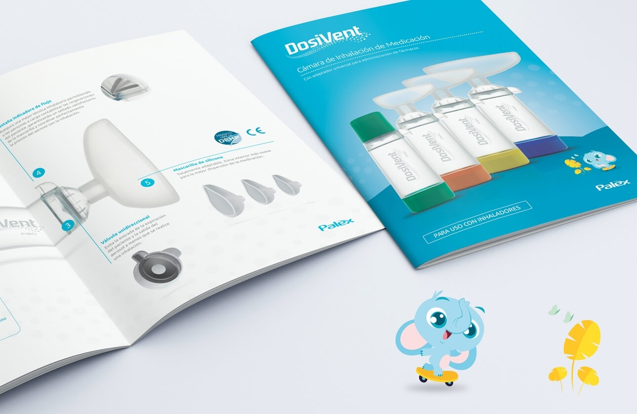 Healthcare design, creación de naming, branding y packaging