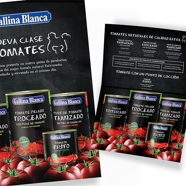 Sales Folder Tomates Gallina Blanca