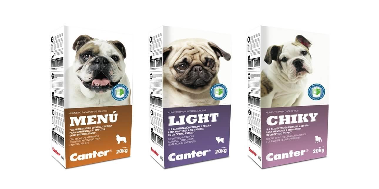 Diseño de packaging para toda la gama de productos
