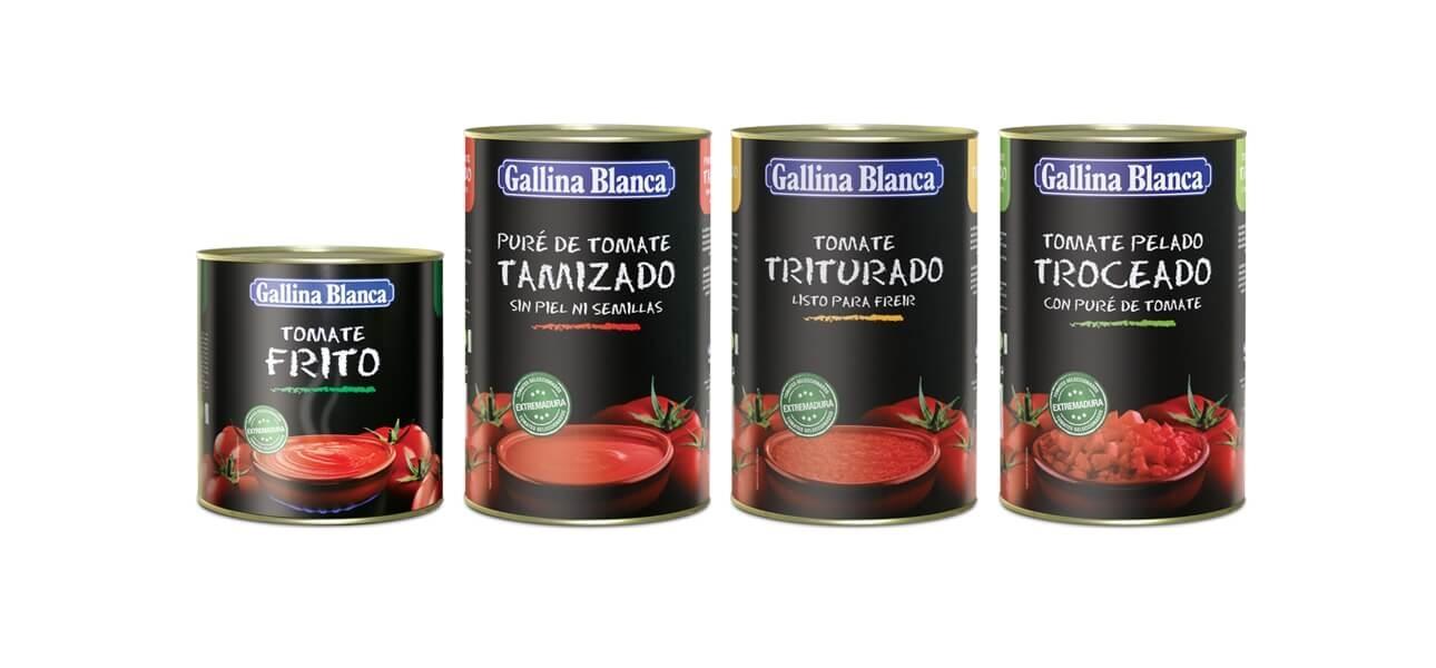 tomates gallina blanca